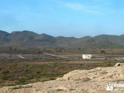 Calblanque y Calnegre - Cabo Tiñoso; excursiones de senderismo; viajes en verano;ruta laguna grande